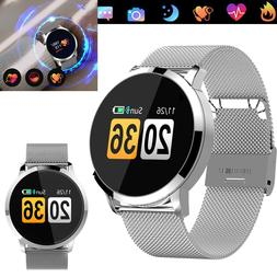 Bluetooth Wrist Smart Watch Heart Rate Bracelet Pedometer Fo