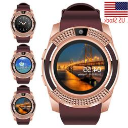 Bluetooth Wrist Smart Watch Unlocked Cell Phone for Android