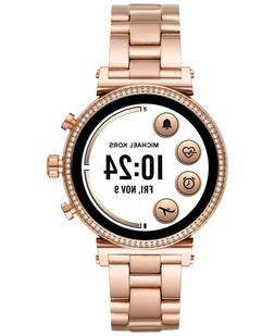 brand new access sofie pave rose gold