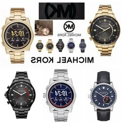 Brand New Michael Kors Men's Watches And Smart Watches Black