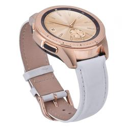CAGOS Leather Strap Compatible Galaxy Watch 42mm Bands Women