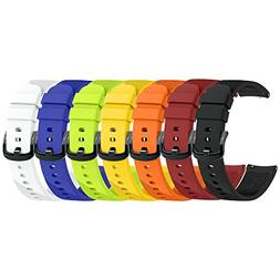 ANCOOL Compatible Ticwatch E Bands for Women 20mm Width Repl