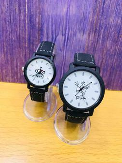 Couple watch lovely smart and beautiful looking 2 watch in 1