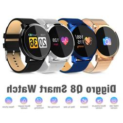 Diggro Q8 Smart Watch OLED Color Screen Heart Rate Monitor S