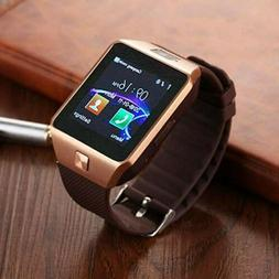 DZ09 Bluetooth Smart Watch Camera Phone Mate GSM SIM For And