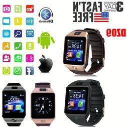 DZ09 Bluetooth Smart Watch GSM SIM for iPhone Samsung lg And