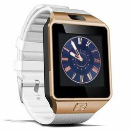 Padgene DZ09 Bluetooth Smart Watch with Camera for Samsung,