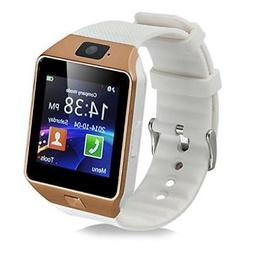 Padgene Dz09 Universal Bluetooth Smart Watch With Camera Gol