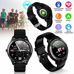 ECG+PPG Watch Smart Watch Men IP68 Waterproof Smartwatch for