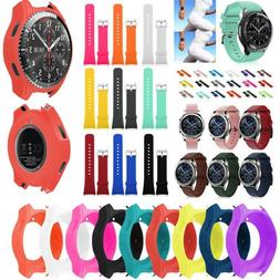 Electronics Case Cover Slim Smart Watch Silicone For Samsung