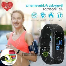 Fit*bit Heart Rate Fitness Smart Watch Activity Tracker Wome