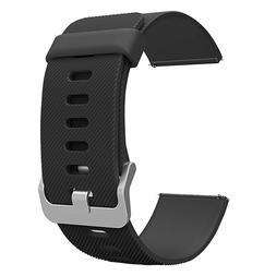 Fitbit Blaze Smart Watch Band, Soft Silicone Strap with Quic