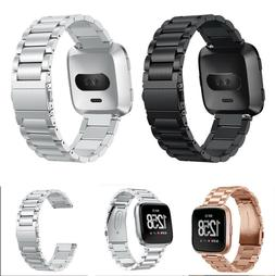 For Fitbit Versa Lite 2 Smart Watch Bands Strap Alloy Metal