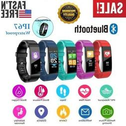 Fitness Smart Watch Activity Tracker Women Men Kid Android i