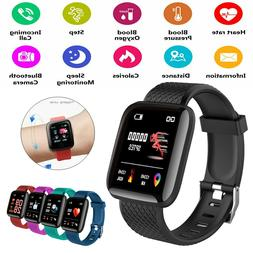 Fitness Activity Tracker Smart Watch Band Heart Rate Oxygen