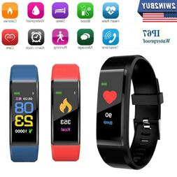 Fitness Tracker Sports Smart Watch Wristband Blood Pressure/