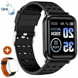 ANCwear Fitness Tracker Watch Activity Tracker with Heart Mo