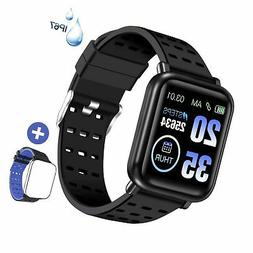 ANCwear Fitness Trackers Bluetooth Smart Watches with Heart