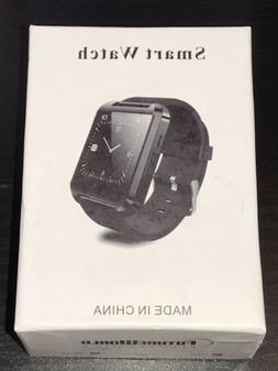 FUTURE WORLD ELECTRONICS BLACK SMART WATCH COMPATIBLE/ANDROI