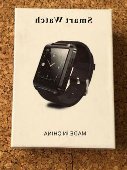 FUTURE WORLD ELECTRONICS BLACK SMART WATCH COMPATIBLE WITH A