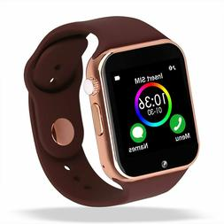 G Waterproof Bluetooth Smart Watch Phone Mate For iphone IOS