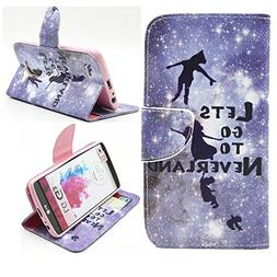 G3 Case, Jenny Shop Fashion Style PU Leather Stand Feather w