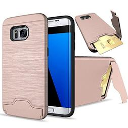 Galaxy S7 Edge Case, SUMOON  Dual Layer Advanced Shock Absor