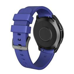 Galaxy Watch Band 42mm Smart Watch Replacement Silicone Flex