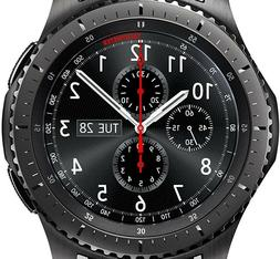 Samsung Gear S3 Frontier Rugged Stainless Steel Case Black S