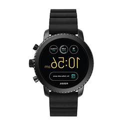 Fossil Q Men's Gen 3 Explorist Stainless Steel and Silicone