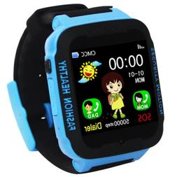 GPS Watch For Kids Children SOS Sports Baby Smart Watches El