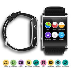 GSM Unlocked Android 5.1 Smart Watch Phone  GPS + Maps + Blu