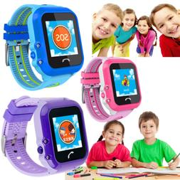 Kids Girls Boys Smart Watch with SOS Emergency Call GPS Trac