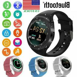 Kids Smart Watch Phone Touch GPS Location GSM SIM for Androi
