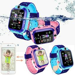 Kids Smart Watch with GPS GSM Locator Touch Screen Tracker S