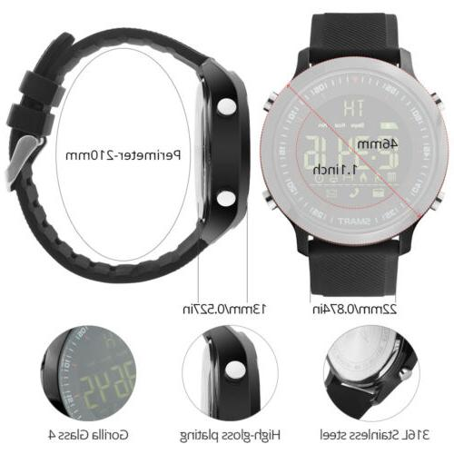 2018 Waterproof Sport Bluetooth Smart Watch For iPhone Samsung LG HTC EX