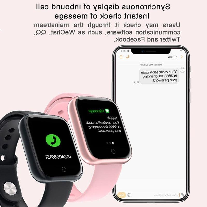 2019 Bluetooth Smartwatch For IPhone Heart Monitor Tracker