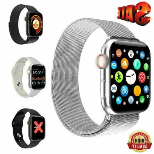 USA Men Women W68 Bluetooth Call Smart Watch IWO Heart Rate