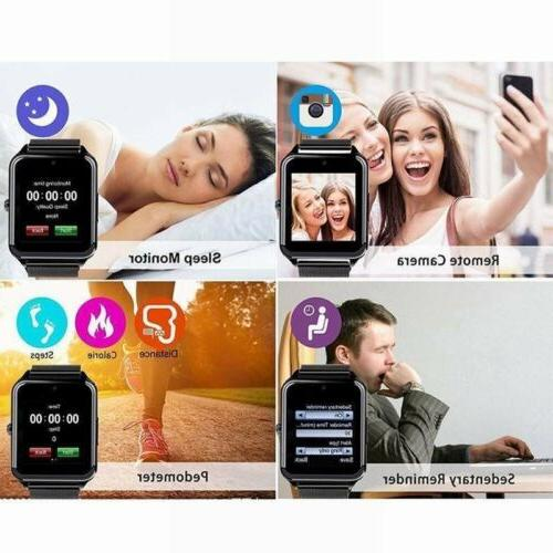 Bluetooth Smart Watch SIM Stainless Android