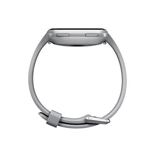 Fitbit Versa Watch, Gray/Silver One Size