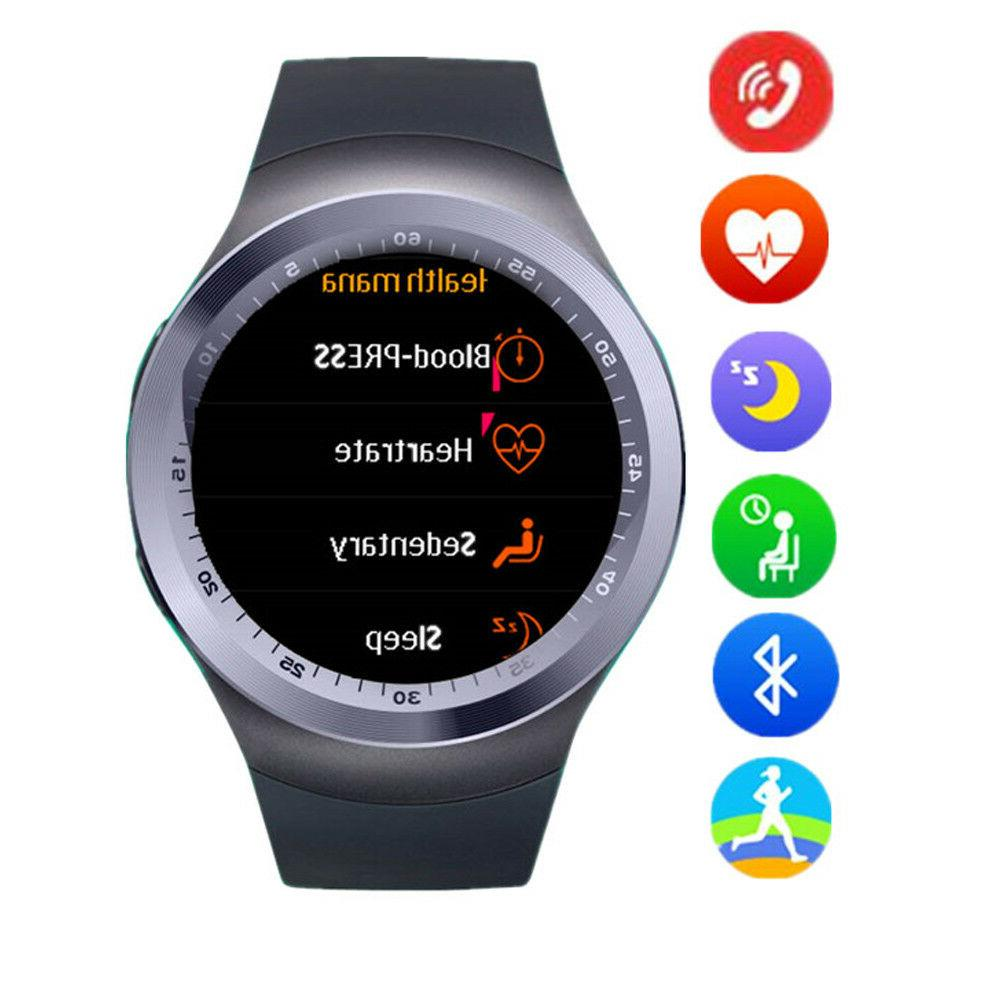 Luxury Bluetooth Smart Watch for Android Samsung S8 S7 S6 No