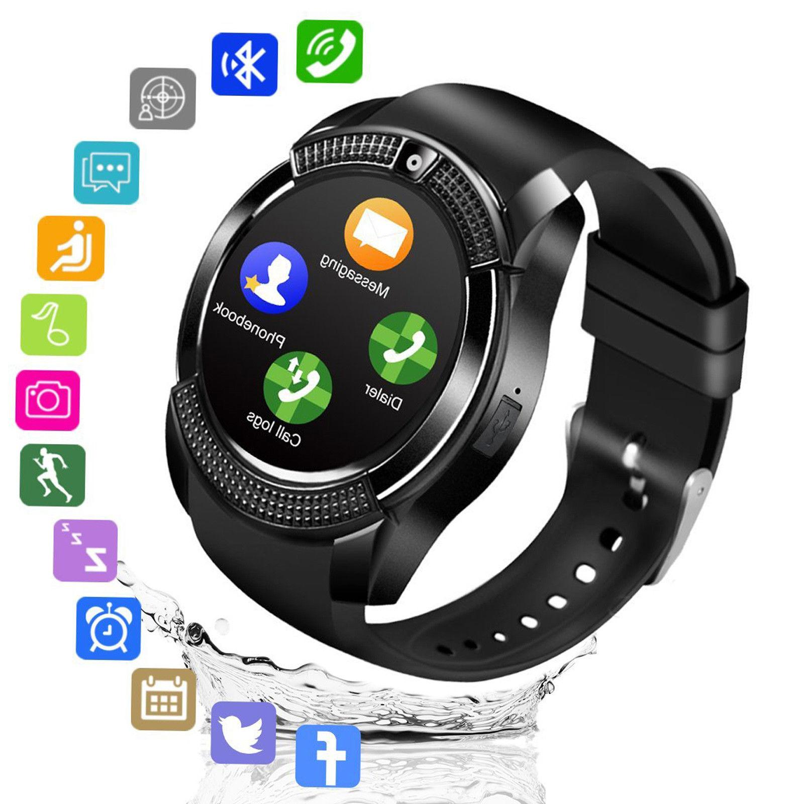 Smart Watch Bluetooth Smartwatch with Camera TouchScreen for