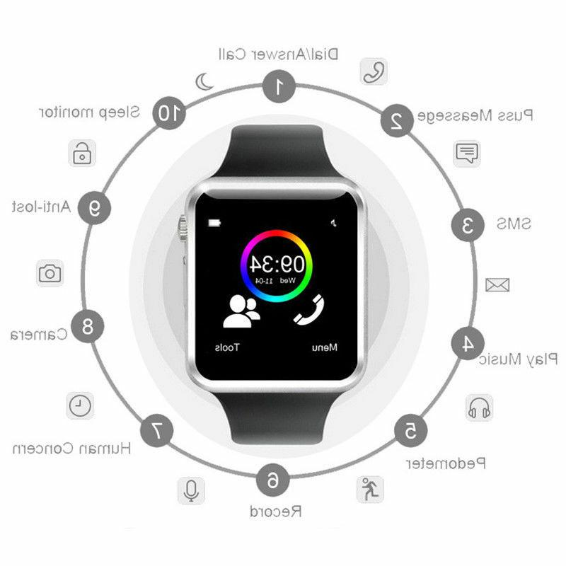 A1 Wrist Watch Bluetooth GSM Android LG