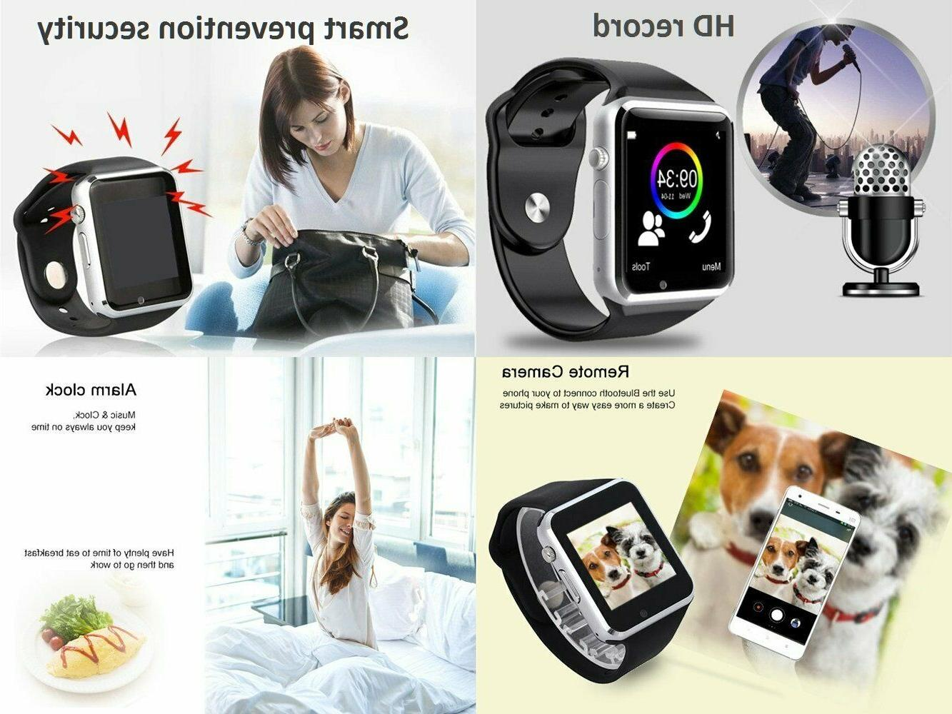 NEW BlueTooth w/Camera for iPhone LG Huawei GIFT