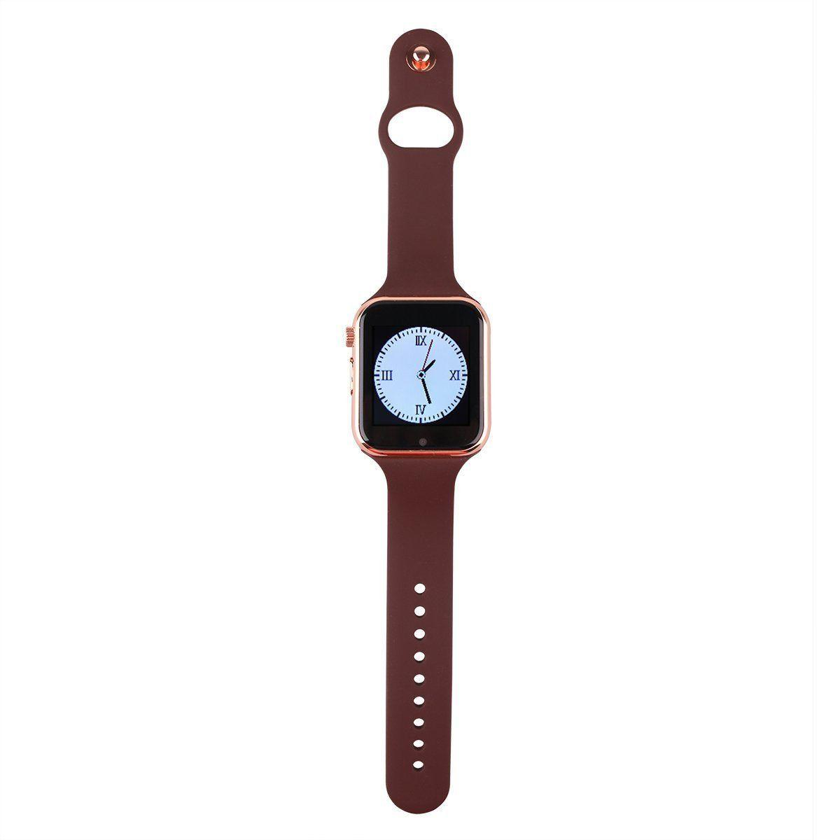 NEW BlueTooth Watch w/Camera for iPhone Samsung LG HTC Huawei GIFT