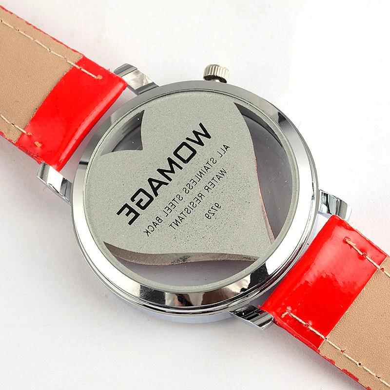 All Casual Leather WristWatch Female