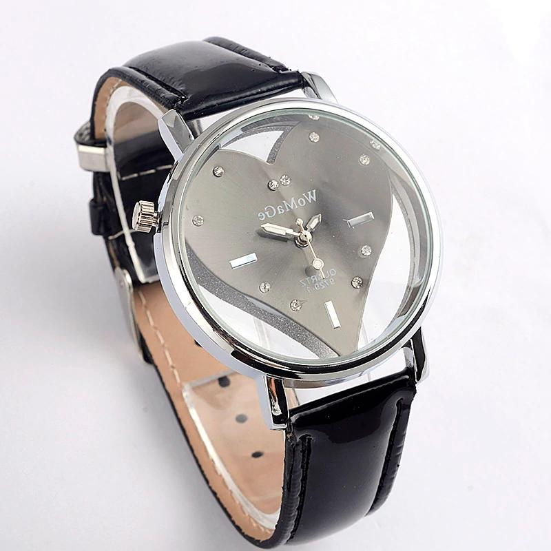 All categories Watches Casual Leather Quartz Female quality