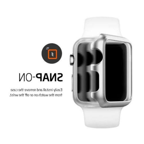 For Watch 3/4 On Bumper Hard Case Protector