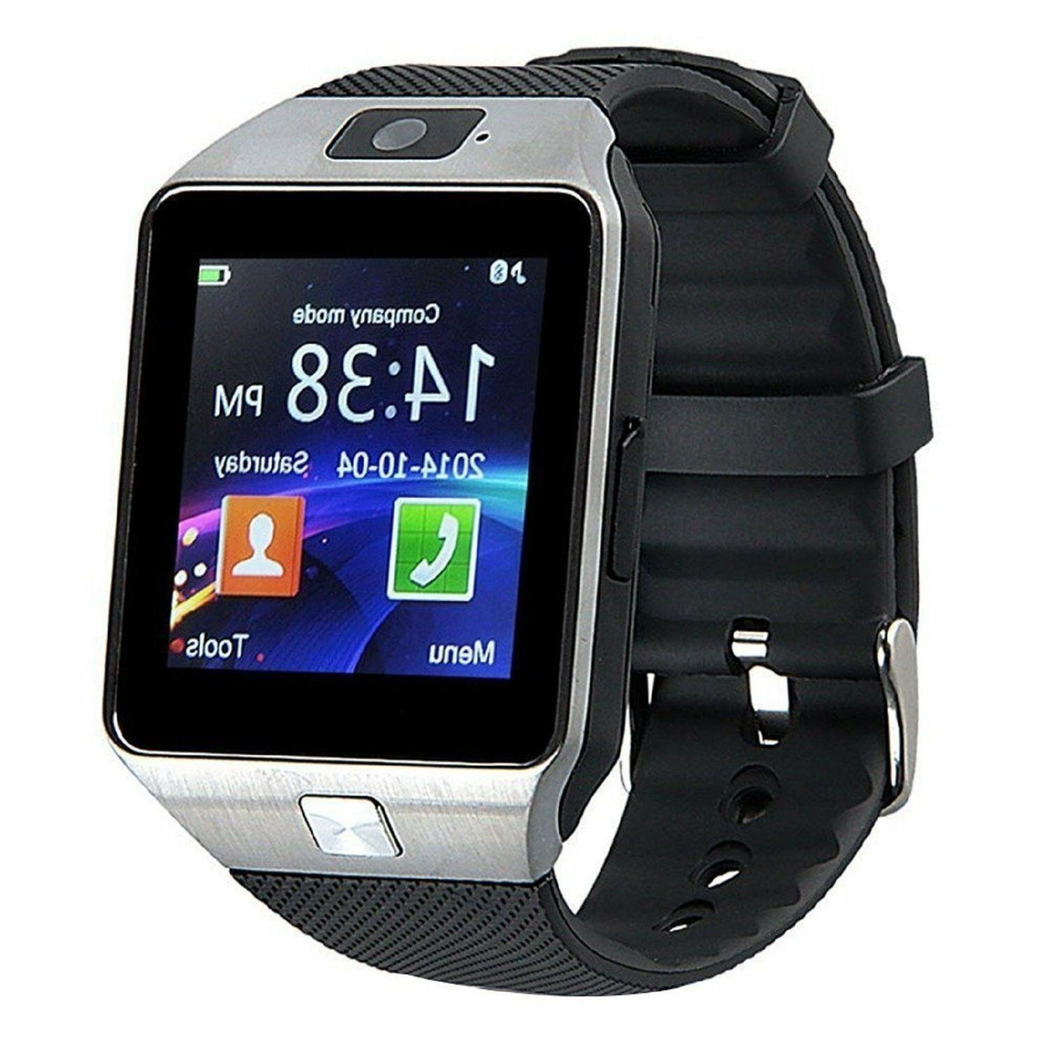 Blue-tooth Smart Watch+Camera Waterproof Smartwatch for Android Phones Samsung