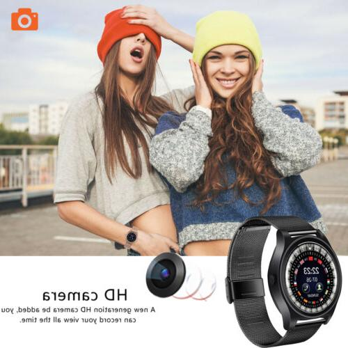 Bluetooth Smart Watch Compatible with iPhone Android for